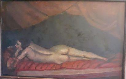 Atribué à Rodolfo ALCORTA (1876-1967) Nu...