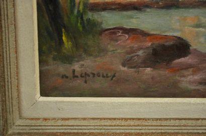 Albert LEPREUX (1888-1959) Le Palais des...