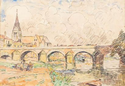 André LEVEILLE (Lille 1880 - Paris 1962)...
