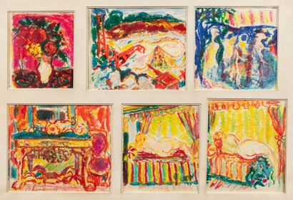 Roger MARCEL LIMOUSE (Collo 1894-1989) Compositions...