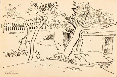 Robert LOTIRON (Paris 1886- Rueil Malmaison1966)...