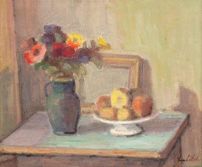 Ossip LUBITCH (Grodno 1896-Paris 1990) Nature...
