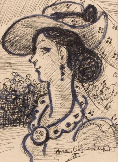 Madeleine LUKA (Maffliers 1894 - Paris 1989)...