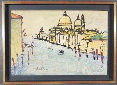 Mieczyslaw LURCZYNSKI (1907 - 1992) Venise...