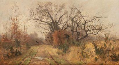 Fernand LUTSCHER (Angers 1850 - 1923) Paysage...