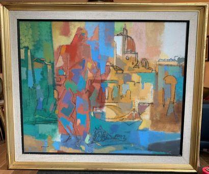 René GOUAST (Bolbec 1897 - Paris 1980) Au...