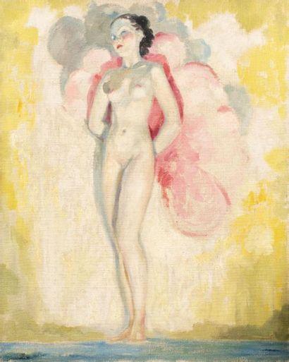 Jean Adrien MERCIER (1899-1995) Femme nue...