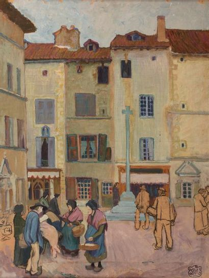 Attribué à Georges Daniel MONFREID ( 1856-1929)...