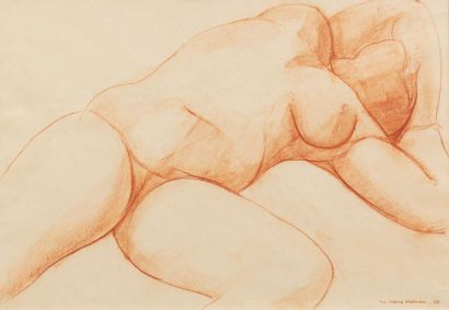 Luc-Albert MOREAU (Paris 1882 - 1948) Nu...