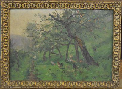 Jules-Georges MOTELEY (Caen 1865-Le Vésinet...