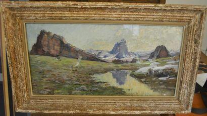 Alexandre NOZAL (Auteuil 1852 - Paris 1929)...