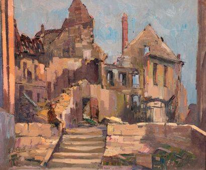 Elie-Anatole PAVIL (Odessa 1873 - Rabat 1944)...