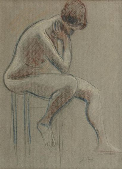 Jean PUY (Roanne 1876 - 1960) Nu féminin...