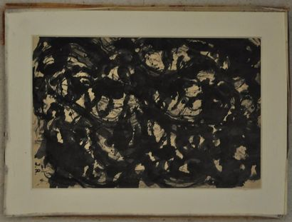Jean RAINE (1927-1986), Composition Encre...