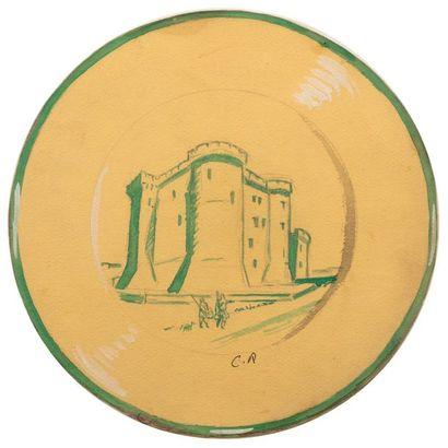 Carlos REYMOND (Paris 1884-Nice 1970) Etudes...