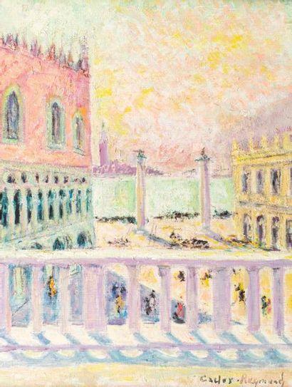 Carlos REYMOND (Paris 1884-Nice 1970) Venise,...