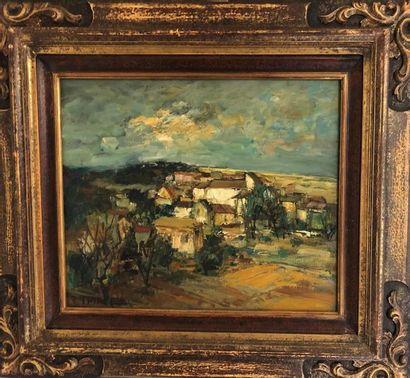 Raymond THIALIER (Né en 1913- ?) Paysage...