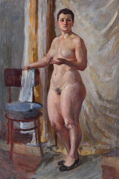 Dimitry TOPORKOV (1885-1937) Toilette du...