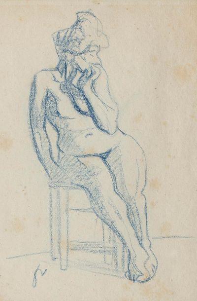 Félix VALLOTTON (Lausanne 1865 - Paris 1925)...