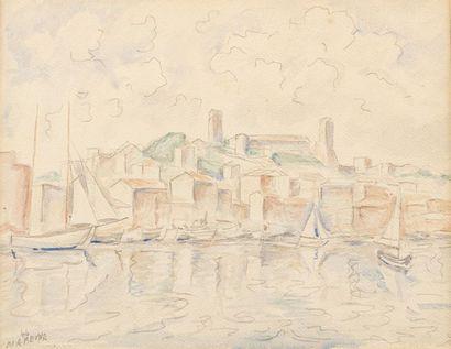 Marie VOROBIEFF MAREVNA (1892-1984) Village...