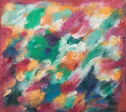 Jean LE MOAL (1909-2007) Composition abstraite,...