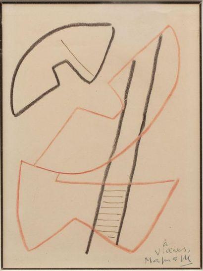 Alberto MAGNELLI (1888-1971) Composition...