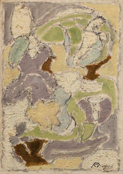 ELISABETH RONGET ( 1893-1972) Ripaille, 1974...