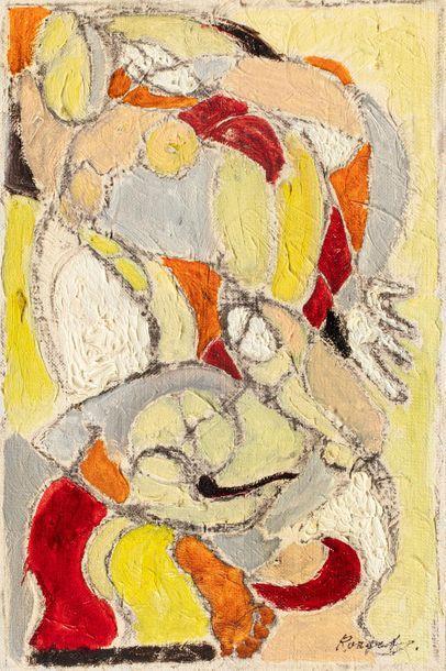 Elisabeth RONGET 1893-1972) L'évasion, 1975...