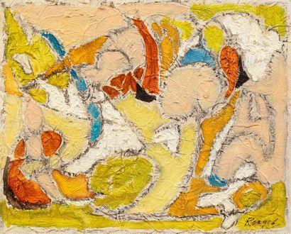 ELISABETH RONGET ( 1893-1972) Le balais extatique,...