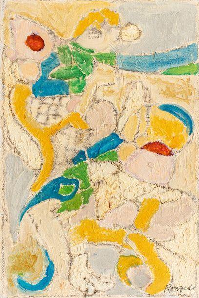 ELISABETH RONGET ( 1893-1972) Les Libellules,...