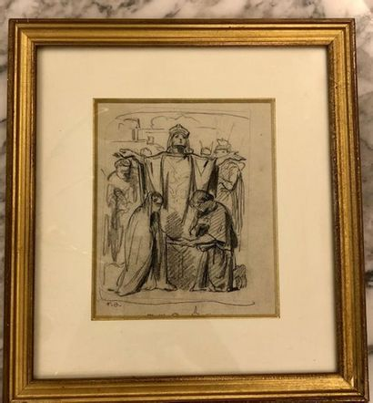 Felix Joseph BARRIAS (1822- 1907) Album comprenant...
