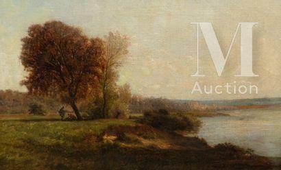 Emile LAMBINET (Versailles 1813 - Bougival  1877)