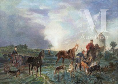 John LEWIS-BROWN (Bordeaux 1829 - Paris 1890)