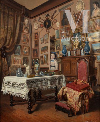 Pierre Emile BERNEDE (Bordeaux 1820- 1900)