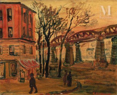 Abraham MINTCHINE (1898 Kiev - La Garde 1931)