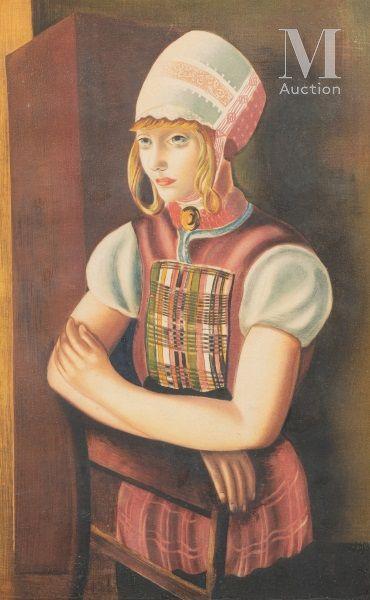Moise KISLING (Cracovie 1891- Sanary sur mer 1953)