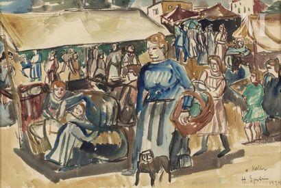 Henri EPSTEIN (Lodz 1891 - Auschwitz 1944)