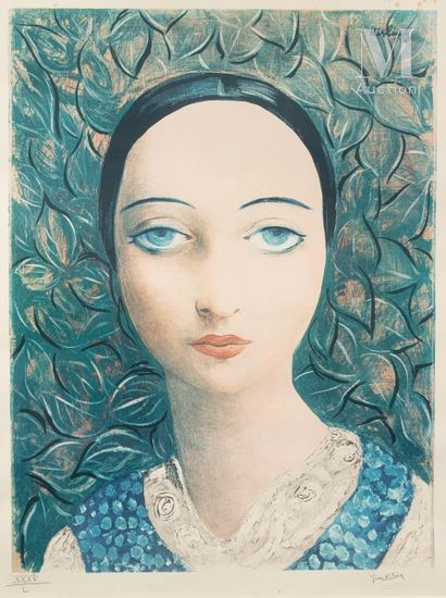 D'après Moïse KISLING (1891 - 1953)