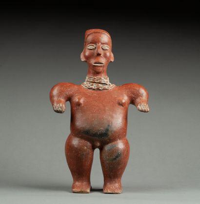 Statuette présentant probablement un chamane...