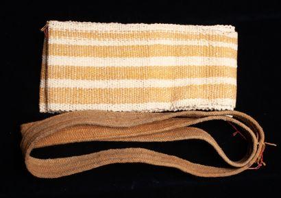 Porte-bébés « Tipoya »  Coton tissé  Kayapo, Amazonie brésilienne, XXe siècle