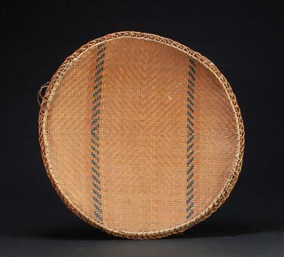 Ensemble de trois corbeilles  Vannerie avec marques d'usage  Tucano, Amazonie  56...