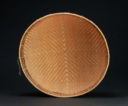 Ensemble de deux corbeilles  Vannerie  Tucano et Pakaanoka, Amazonie  48 cm ; 38...