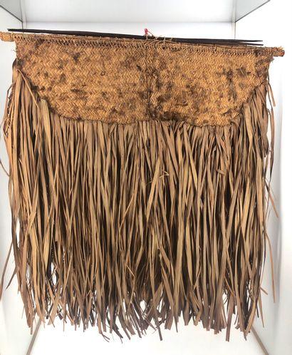 Natte probablement utilisée au cours des rituels initiatiques d'imposition du nom...