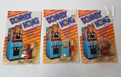 COLECO  1982  Ensemble de trois figurines...