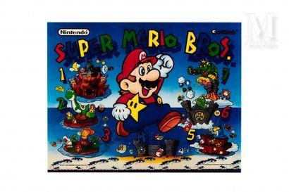 NINTENDO & GOTTLIEB  Marquee Super Mario...