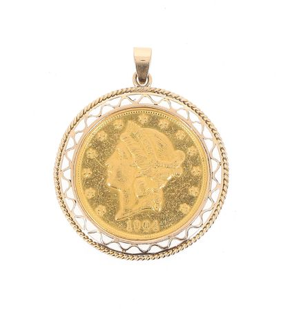 A 20 US Dollars gold Liberty Head 1904, 18...