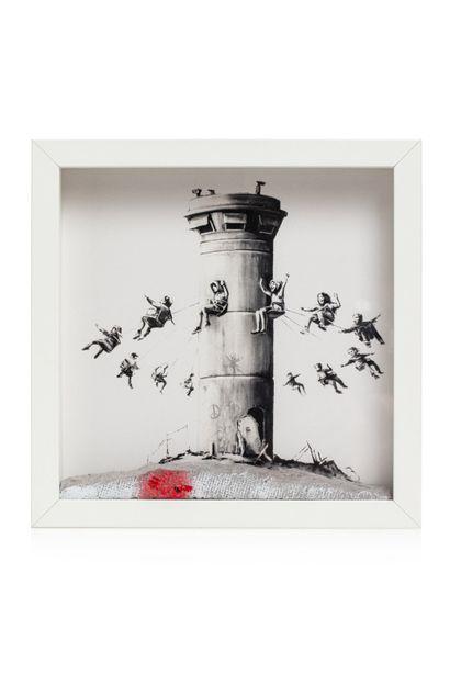 BANKSY (born 1974)  Walled off hotel Box...