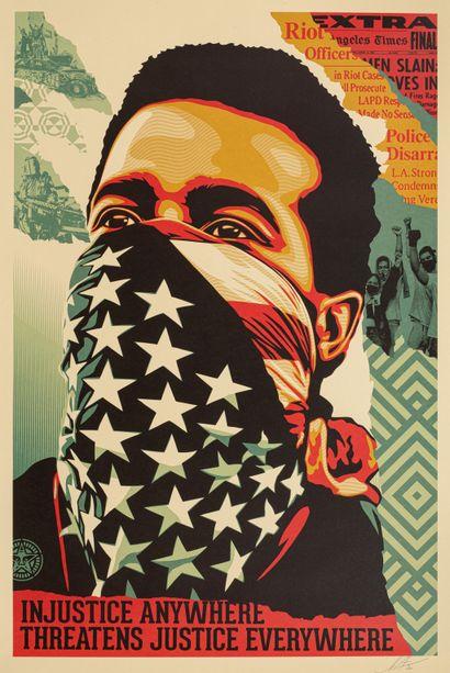Shepard Fairey (born 1978)  American Rage...