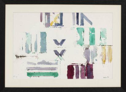 Paul KALLOS (1928-2001)  Sans titre, 1994...