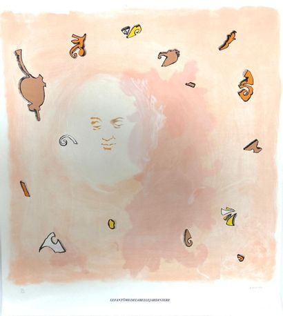 Jean-Michel ALBEROLA (né en 1953)  Le fantome...